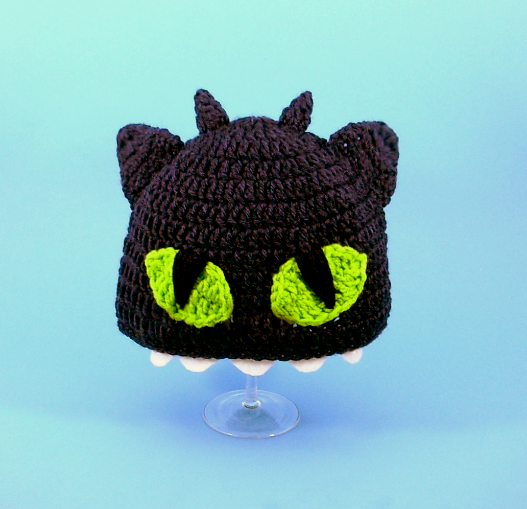 Toothless the Nightfury Hat from How to Train Your Dragon